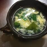 ふわっと卵スープ