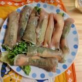 野菜の生ハム巻き