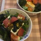 豆腐の中華サラダ