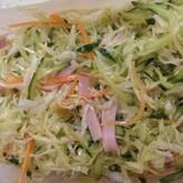 せん切り野菜のコールスロー