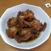チキンのしょうゆ煮