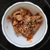 シンプル豚キムチ