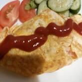 高菜オムレツ