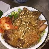 ガーリックスパイシー焼き肉丼