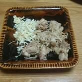 鶏肉のバジル炒め