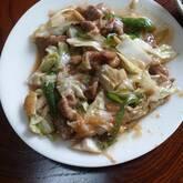 キャベツ・豚肉のピリ辛