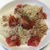 イタリア風トマト素麺