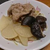 豚大根の蒸し煮ユズコショウ風味