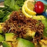 ジャコとアボカドのサラダ