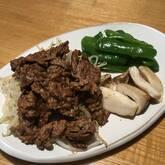 甘みそダレの牛焼き肉