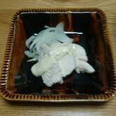 蒸し鶏・マヨソース