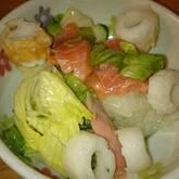 サーモンと玉ネギのサッパリサラダ