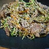 牛肉と春雨のピリ辛炒め