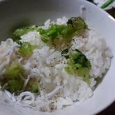 野沢菜ご飯