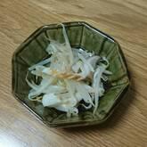 モヤシとシメジの中華風