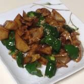 レンコンの甜麺醤炒め