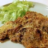 鶏肉のハーブパン粉焼き