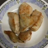 鶏むね肉ピーナッツ焼き