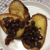 小豆フレンチトースト