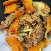 炒め牛肉のマリネ