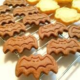 ハロウィンコウモリクッキー