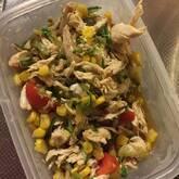 ゆで鶏のサラダ仕立て