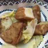 さつま揚げと白菜の煮物