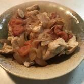 鶏肉のプチトマト煮込みの献立