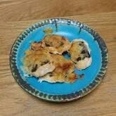 鶏ささ身のピリ辛のり焼き