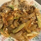 豚キャベツピリ辛炒め