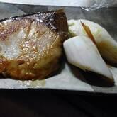 ブリのバター照り焼き