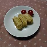 メープルシロップの卵焼き