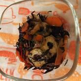 ちくわと芽ヒジキの炒め煮
