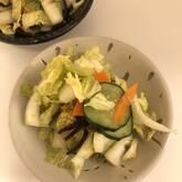 白菜の浅漬け