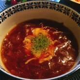 飴色玉ネギのオニオングラタンスープ