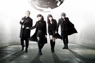 fripSide×angela「The end of escape」アーティスト写真とジャケットを公開 「亜人」OPテーマ