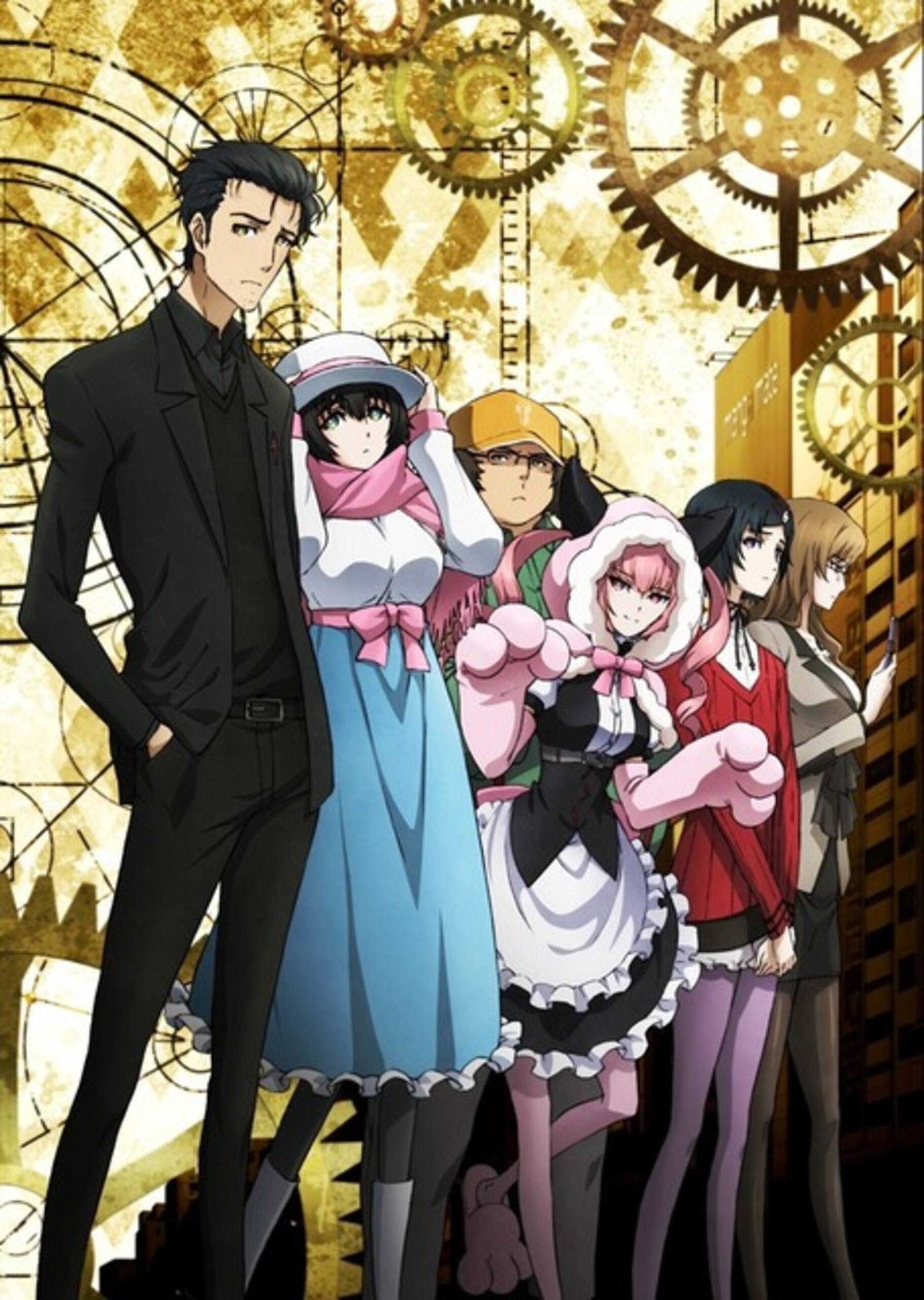 Image result for steins gate 0 key visual