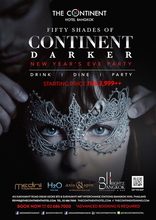 FIFTY SHADES OF CONTINENT DARKER NYE 2016 ドリンク お食事 パーティー