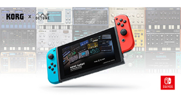 「KORG Gadget for Nintendo Switch」4月26日発売、ゲーム感覚で音楽制作