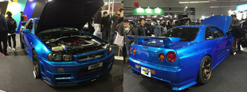 【東京オートサロン2018】Legend of the BNR32「GReddy RX」の名はBNR34が継承【Play Back the OPTION Spin off】