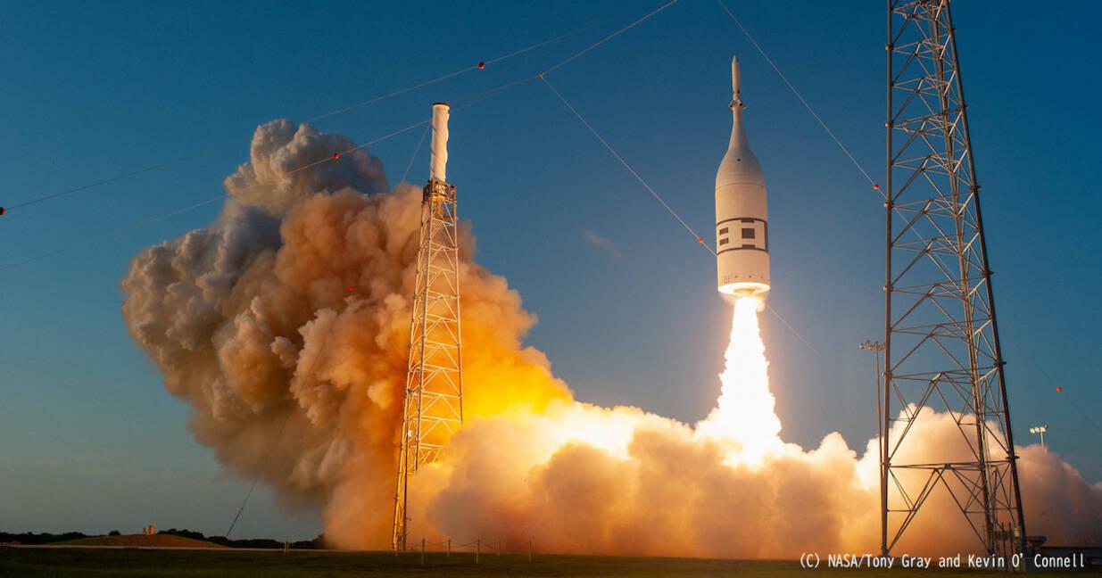 Nasa ロケットから オライオン 宇宙船を脱出させる試験に成功 2019