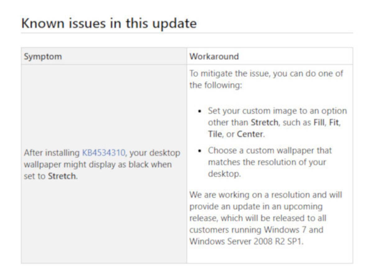 Windows 7の 壁紙が消える 問題 サポート終了に伴う有償対応ではなく無償対応へ 年1月27日 エキサイトニュース
