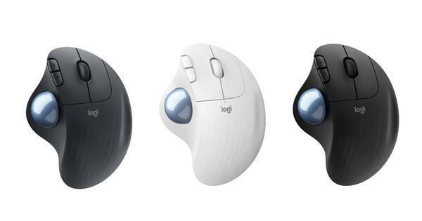 ロジクール、M570を10年ぶりに刷新したトラックボールマウス「ERGO M575」