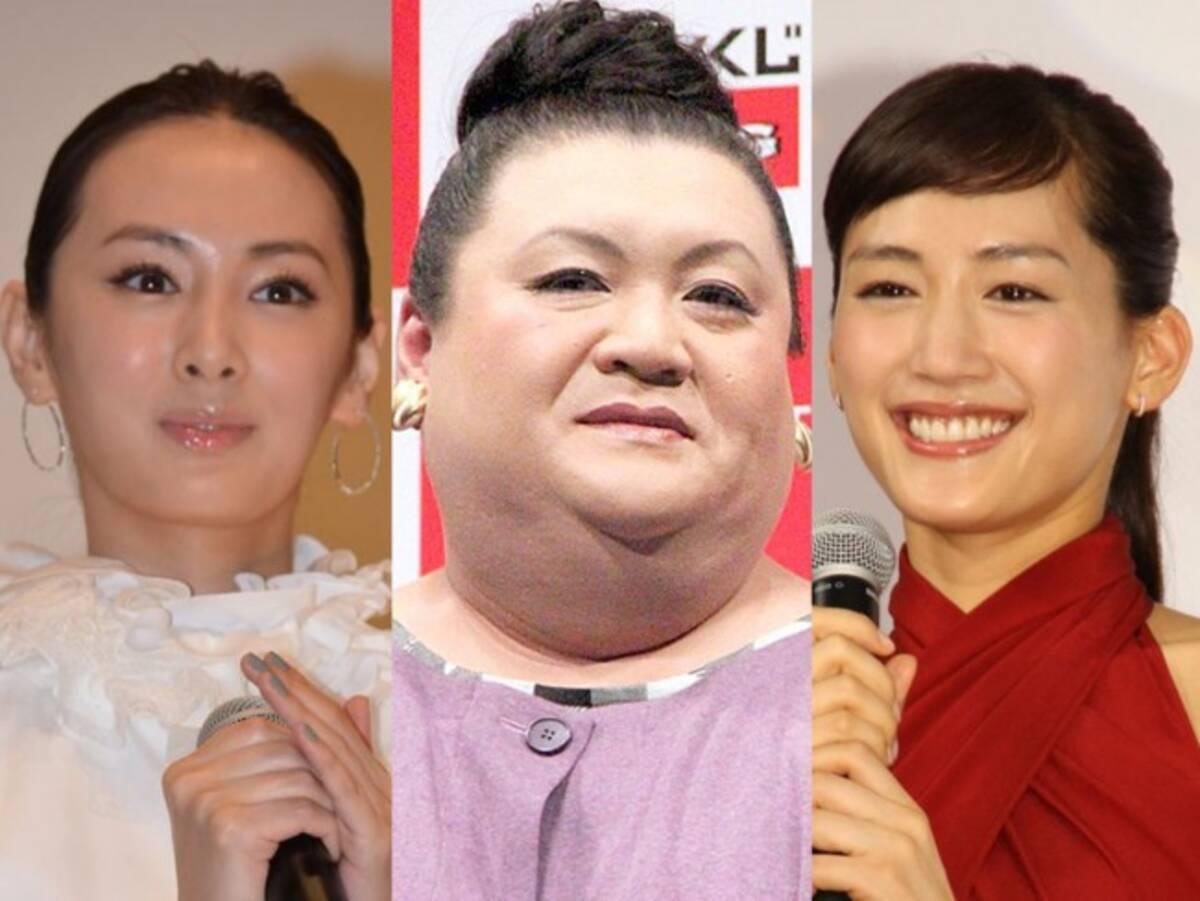 マツコ、北川景子、綾瀬はるか「スッピンを見てみたい芸能人ランキング ...