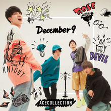 ACE COLLECTION、初アルバム「December 9」ジャケット&収録曲発表
