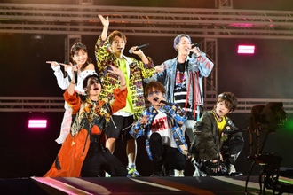 AAA、「a-nation2018」で圧巻の大トリ! ファン大熱狂