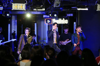 w-inds. YouTube Space Tokyoで魅せたプレミアムライブ