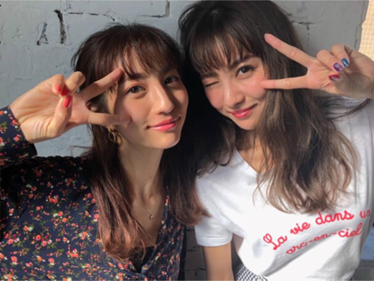 石川恋 堀田茜との2ショットがそっくり 可愛いと話題 2018年2月24