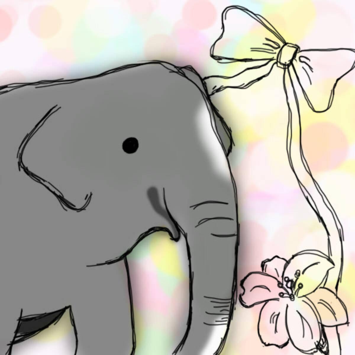 ぽっかり空いた はな子 のゾウ舎に咲く花 エキサイトニュース
