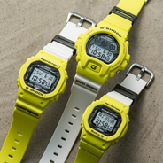 "稲妻モチーフの""G-SHOCK""&""BABY-G"" TEAM G-SHOCK向けモデル「Lightning Yellow Sereis」が登場"